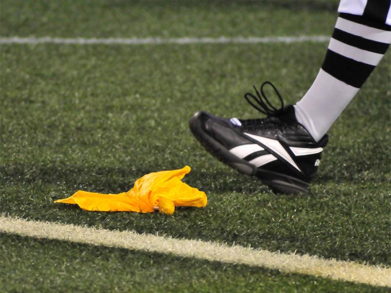 American Football Begriffserkl 228 Rung Flag