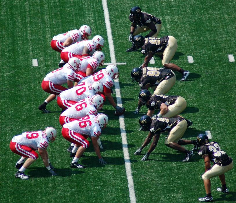 american football line